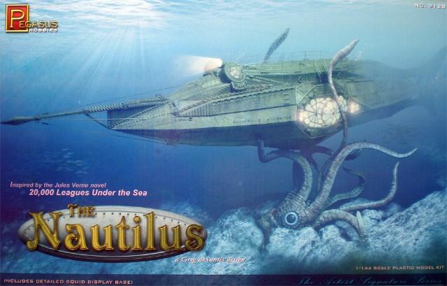 NAUTILUS Pegasus 1/144. .Fini. B5lom3