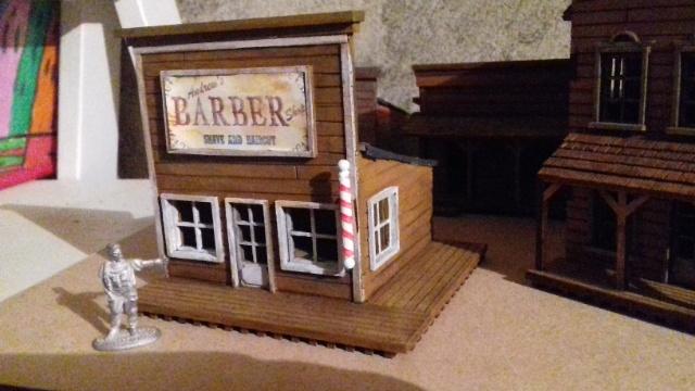 Mes premières maisons Western Sfbt25